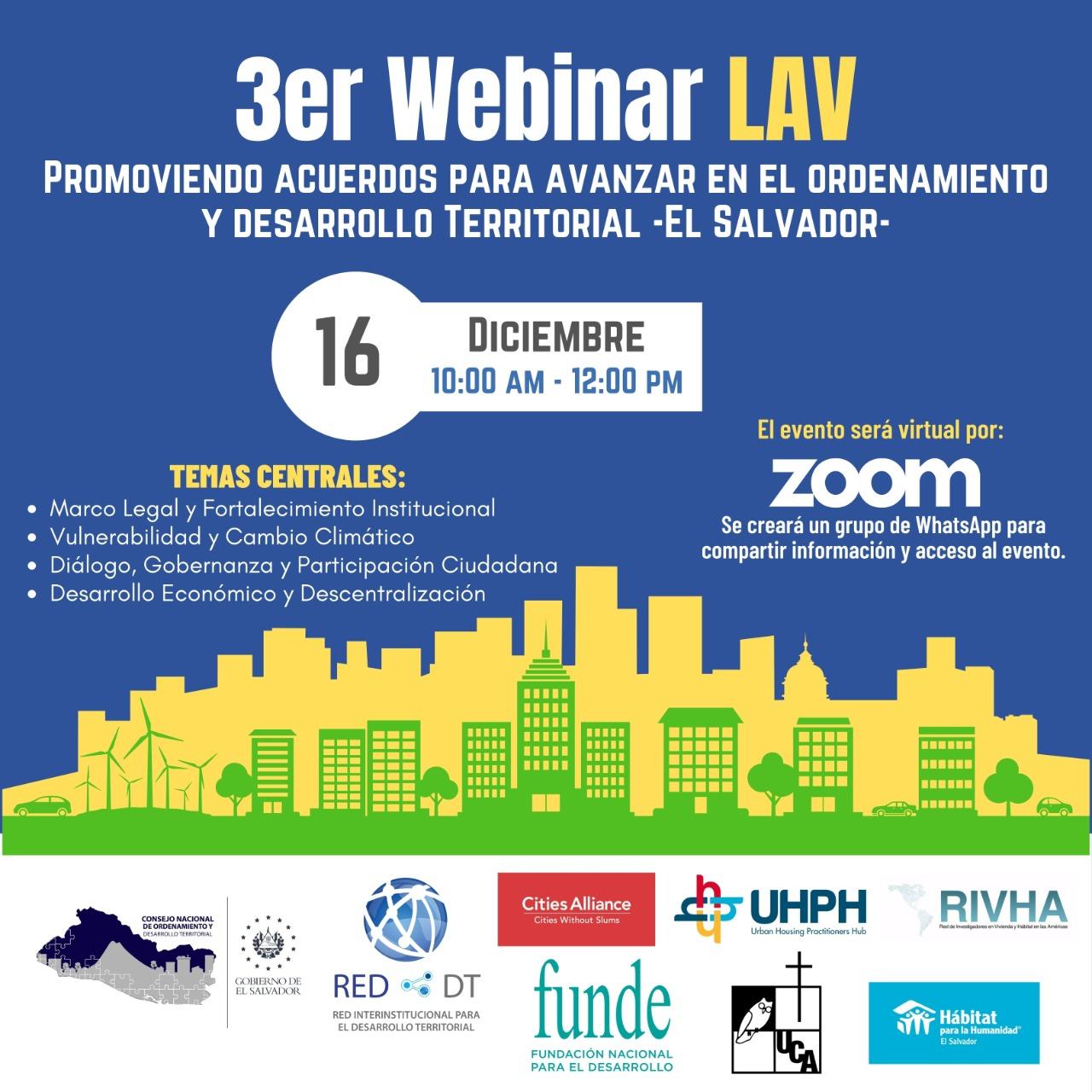 Promoviendo Acuerdos Para Avanzar en el Ordenamiento y Desarrollo Territorial -El Salvador-